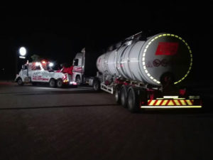 Successful late night towing | Kallies Panelbeaters Upington
